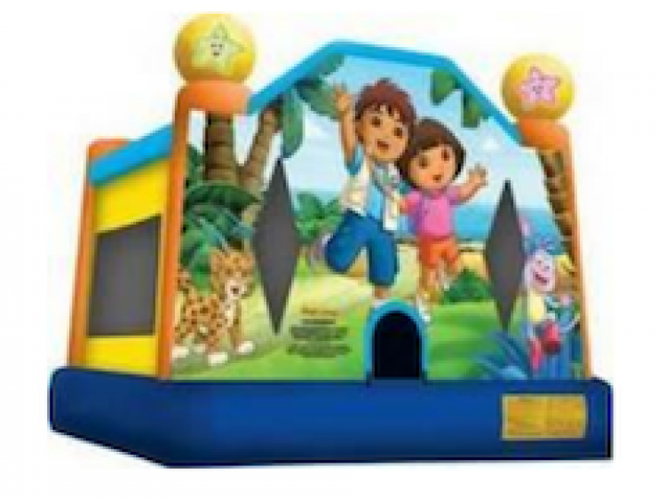 Dora & Diego Bounce House